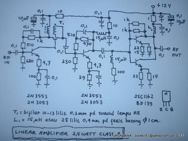 Linear Class A 2,5 Watt - Skema-001