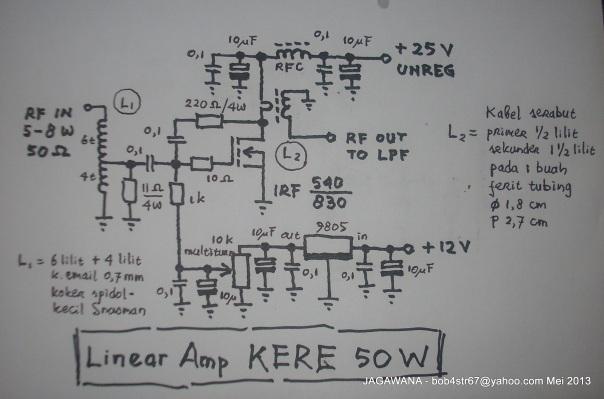 Skema Linier 50 Watt